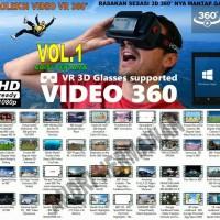 PAKET VIDEO 3D VR / 3D SBS / 360 AMAZING VIDEO BEST SELLER