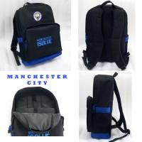 Tas Manchester City Backpack Slot Laptop Logo Bordir