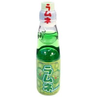 Hata Ramune Melon Bottle