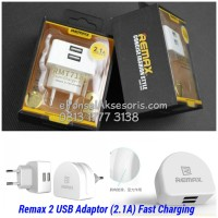 Remax 2 USB Adaptor (2.1A)