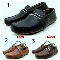 harga Sepatu Slip On Pria Kickers Mordoba Casual Kerja Simple Nyaman Keren Tokopedia.com