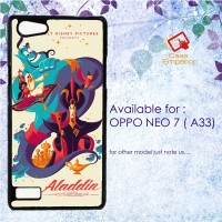 Disney Aladin Fine Art 1 Hardcase for Oppo A33 atau Neo 7.