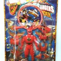 Action Figure Power Rangers Dino + CD Film