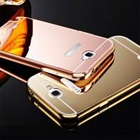Samsung Galaxy Note 2 Aluminum Bumper Mirror Hard Back Casing Case