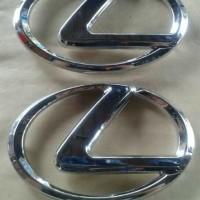 Jual emblem lexus chrome Baru   Aksesoris Eksterior Mobil Online Len