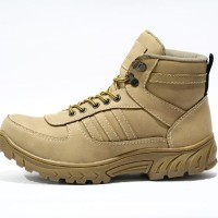 harga Sepatu Boot Safety Adidas Grande Steel Toe Cream Tokopedia.com