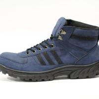 harga Sepatu Boot Safety Adidas Grande Steel Toe Navy Tokopedia.com