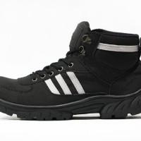 harga Sepatu Boot Safety Adidas Grande Steel Toe Hitam Tokopedia.com