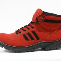 harga Sepatu Boot Safety Adidas Grande Steel Toe Merah Tokopedia.com