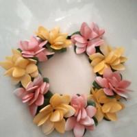 Jual flower crown bunga cocok untuk semua umur Murah