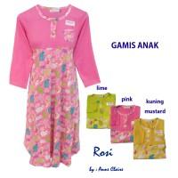 ROSI Gamis Anak Perempuan/Baju Muslim / Dress Murah  Anne Claire
