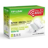 TP-LINK TL-WPA2220KIT AV200 WiFi Powerline Extender