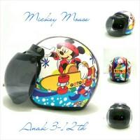 Helm Anak 3-12 th Bogo Retro Motif Mickey Mouse