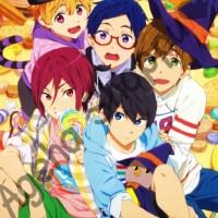 Poster Anime Free! Iwatobi Swimming Club Rin Makoto Haru Nagisa Rei