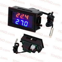 DIGITAL TEMPERATURE THERMOSTAT CONTROLLER RELAY W1209WK W1209 LED