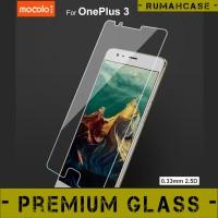 Anti Gores Kaca Bening Kuat MOCOLO Premium Tempered Glass OnePlus 3