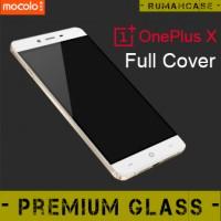 Anti Gores Kaca Bening Kuat FULL COVER MOCOLO Tempered Glass OnePlus X