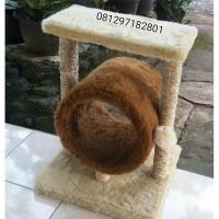 harga Mainan Kucing,cakaran/garukan Kucing/car Scratcher/cat Condo Tokopedia.com