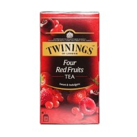 TWININGS Four Red Fruits Tea [25X2g]