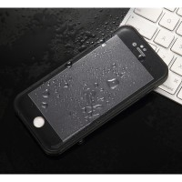 Casing Waterproof iPhone 6 Plus Slim Full Body Protection ,Warna Hitam
