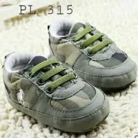 Sepatu Prewalker Polo Green Army