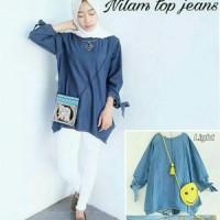 Nilam top Jeans Dark & Light
