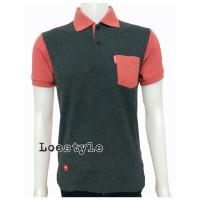 Polo Shirt Groovy Sunday Dua Warna A103