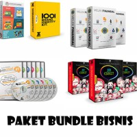 Bundle Produk Belajar Bisnis | Copywriting, Finansial, Marketing, dll