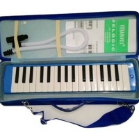 Pianika Marvel 32 Key Melodica Blue Koper Box