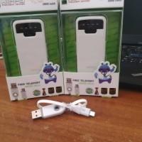 Powerbank Hippo Snow White 5800 Simple Pack Diskon