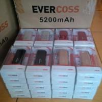 powerbank evercoss 5200 mAh / 5200mah Murah