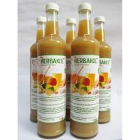 Jus Herbal Bawang Putih+Jahe+Lemon Import+Cuka Apel+Madu HERBAKOL