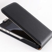 harga Luxury Vertical Magnetic Flip Leather Case for iPhone 5/5S Tokopedia.com