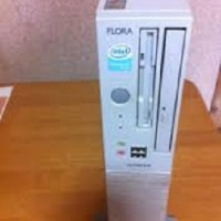 PC Hitachi Flora 330 Built-Up Core 2 Duo @1,8 Ghz RAM 1 GB HDD 40 G