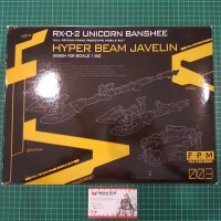 FPM PG 1/60 Hyper Beam Javelin Black For PG Gundam Unicorn Banshee