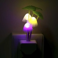 Lampu Tidur Jamur LED Avatar, Sensor Cahaya