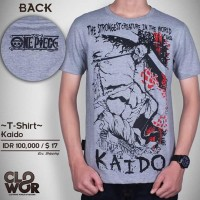 Kaido Kaos-Baju-Tshirt Distro Yonkou Anime-Manga One Piece