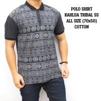 harga Polo Shirt Kaos Kerah Berkerah Polo Pria Cowok Abu Abu Kahlua Tribal Tokopedia.com
