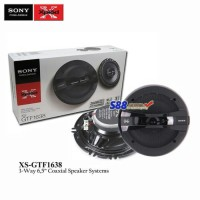 Sony XS-GTF1638 3-Way Coaxial Speaker System 6.5""