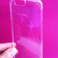 case crystal transparan bening for iphone 6 or 6 plus