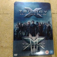 DVD Original X Men Trilogy Collector's Edition