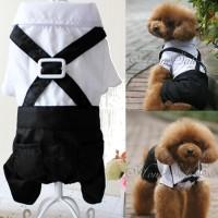harga Baju Anjing Kucing Wedding Tuxedo Suit Dasi Kupu Size L Tokopedia.com