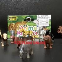 MAINAN EDUKASI/EDUKATIF ANAK ANIMAL KINGDOM WORLD ( 8124)