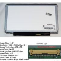 Layar LCD/LED Notebook Lenovo Ideapad S20-30 Series 11.6