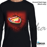 Kaos 3D Umakuka Arsenal Logo