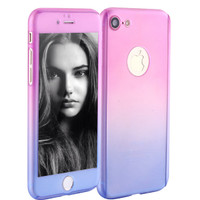 360 Full Protectection neo hybrid Case for iPhone 5/5s -PURPLE LIMITED