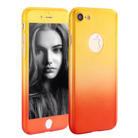 360 Full Protectection neo hybrid Case for iPhone 6/6s -Orange LIMITED
