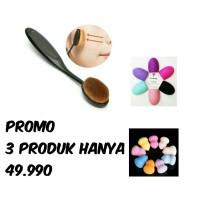 Jual Promo murah oval brush - brush egg - sponge beauty Murah