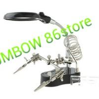 harga alat service lup/kaca pembesar + PCB HOLDER Tokopedia.com