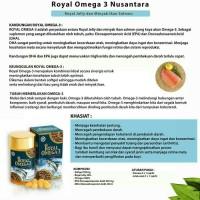 Jual Royal Omega 3 Ratu Nusantara Murah